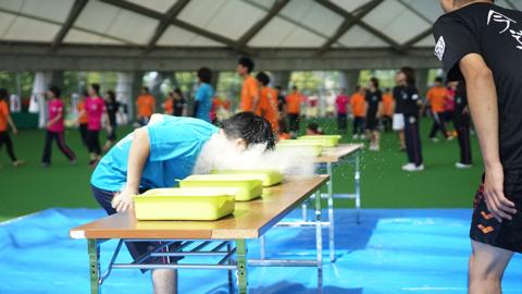 大人の運動会2015障害物リレー