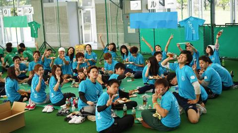 大人の運動会2015昼食