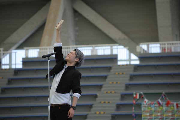 大人の運動会2017年@岡山春選手宣誓