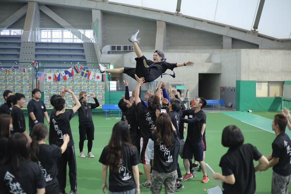 大人の運動会2017年@岡山春優勝ブラックチーム2