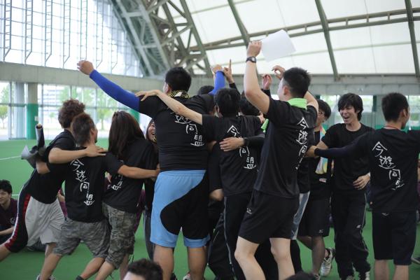 大人の運動会2017年@岡山春優勝ブラックチーム1