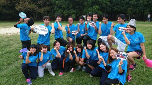 大人の運動会2017年@大阪ブルー集合写真