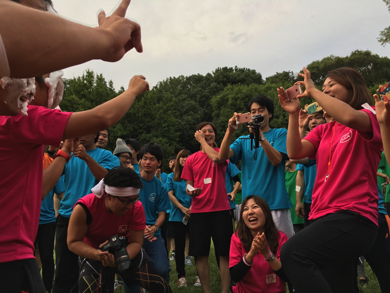 大人の運動会2017年@大阪集合写真